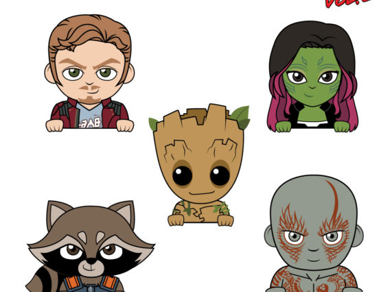 The Guardians of the Galaxy Join Our Badge Buddies Lineup!